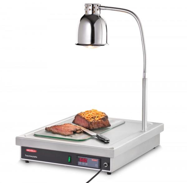 Scholl Tranchierplatte TP 90050 ohne Hustenschutz mit 1 Wärmelampe B3120