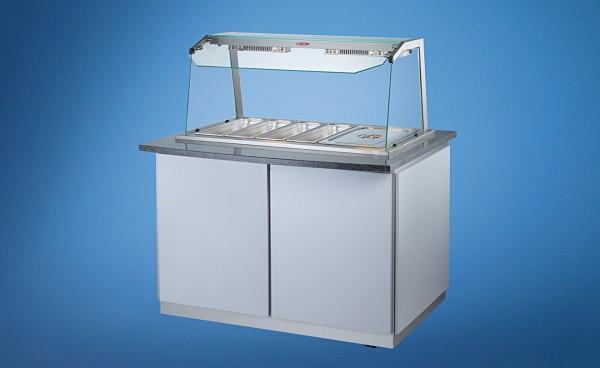 Profit-Line 95000 Bain-marie mit Unterbau - multifunktionale Warmverkaufsanlage - versch. Größen