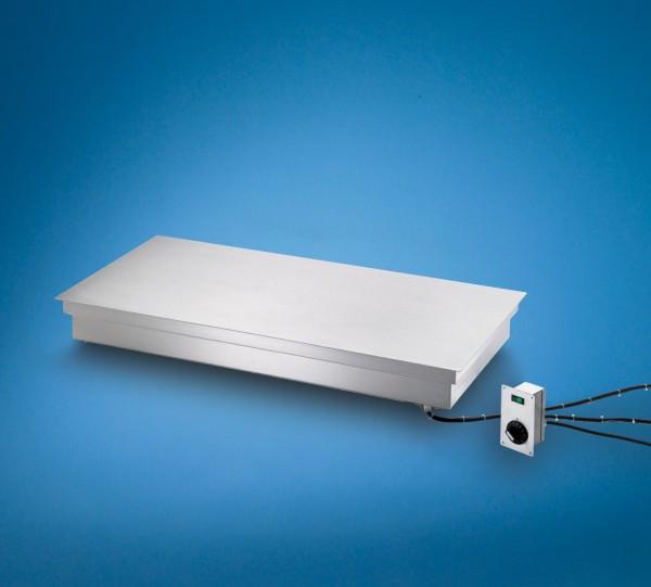 Wärmeplatte zum flächenbündigen Einbau 30 - 100 °C Thermoschalter Scholl 26060 FB
