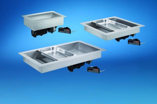 Multifunktionswanne Heiß-Kalt für Zentralkühlung 2 x GN 1/1 Scholl C 6205 Modell CWZ 660