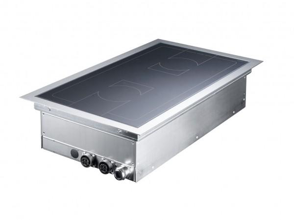 Einbau Induktionskochfeld 10 kW mit Flex Steuerung 2 Kochstellen Scholl Typ Z0266