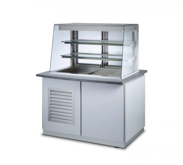Profit-Line 95000 Schleierkühlvitrine mit Unterbau - versch. Größen