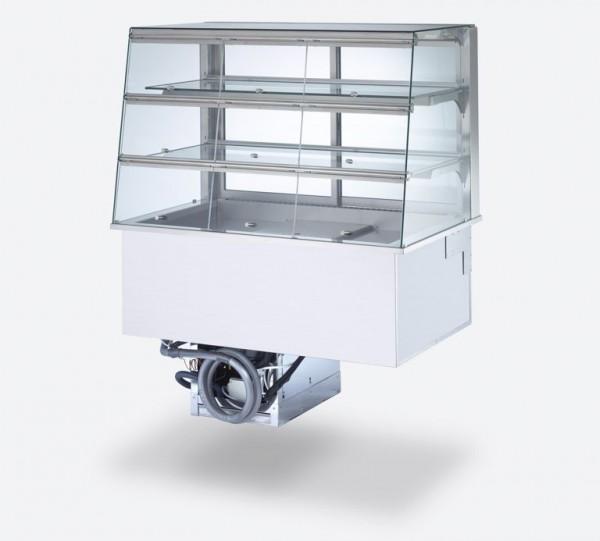 Profit-Line 95000 Umluft Kühlvitrine mit Entnahmeklappen - Einbaugerät - versch. Größen