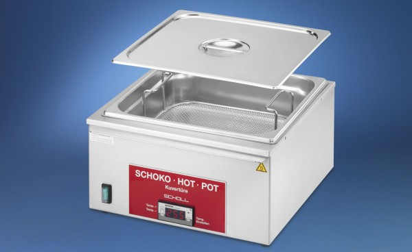 Scholl Kuvertüre Schoko-Hot-Pot 3502 mit 27 Liter F0420