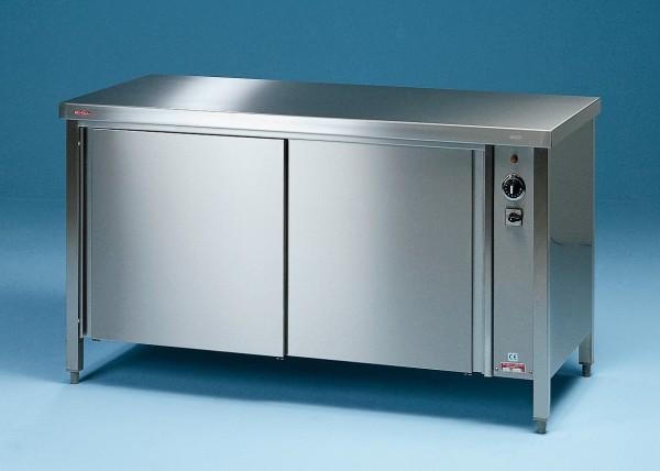 Umluft Durchreiche-Wärmeschrank mit Schiebetüren - Tiefe 600 mm bis 1.400 mm Breite SCHOLL