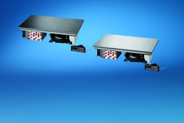 Kalt-Warm-Platte CPZ660 Einbaugerät 2 GN 1/1 Glas RAL / für bauseitige Zentralkühlung