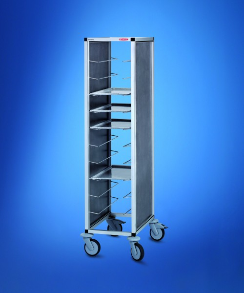 Scholl Tablettwagen RTW - 1 Abteil 460 x 344 - Höhe 1450mm