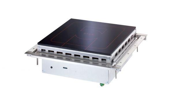Einbau Einkochzone Induktion 5 kW mit Einbaurahmen UL/IN 5000 Scholl Z1504