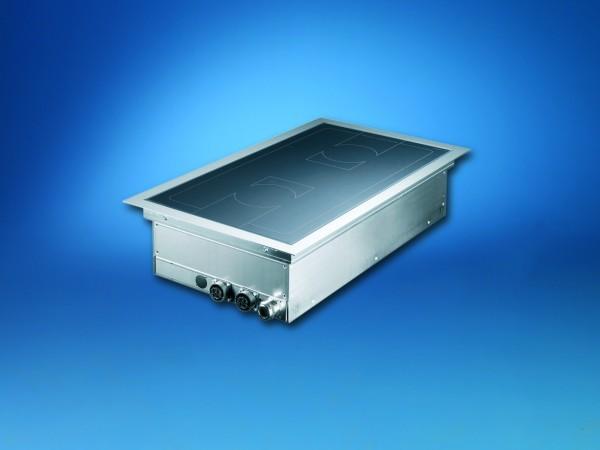 Scholl Z0116 Einbau Induktionskochfeld SH/IN 3500 mit 2 Kochstellen und 7,0 kW