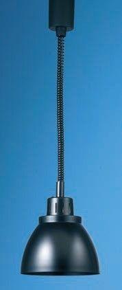 Scholl massiv Wärmestrahler schwarz 23001 Typ B0039